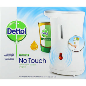 Dettol No Touch Handwash Complete Original 250ml Case of 4