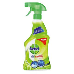 Dettol Hygiene Cleaner Bathroom Trigger Spring Fresh 500ml Case of 12