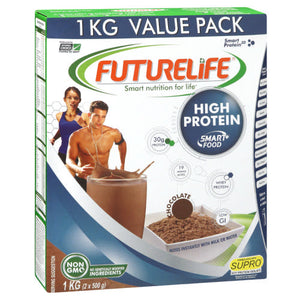 Futurelife High Protein Smart food Chocolate 1kg Case of 12