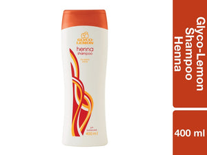 Glyco Lemon Family Shampoo Henna 400ml Pack of 12