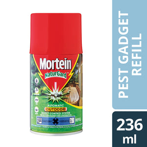 Mortein Naturgard Automatic Insectisice Spray Outdoor Refill 236ml