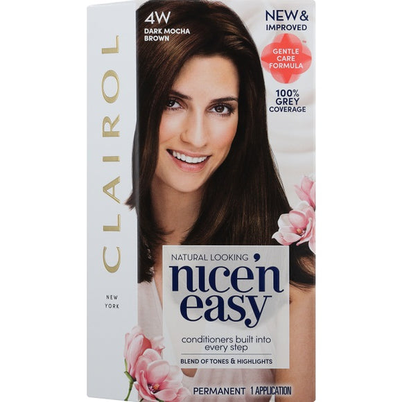 Nice and Easy Natural Dark Mocha Brwn 4w