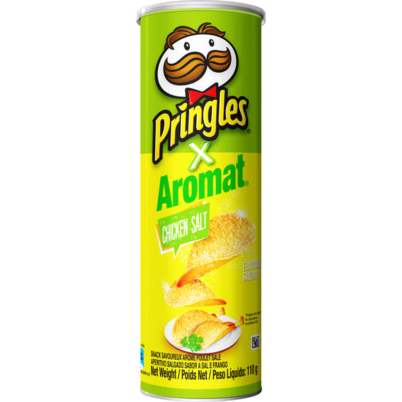 Pringles Chicken Salt flavoured savoury snack 110g
