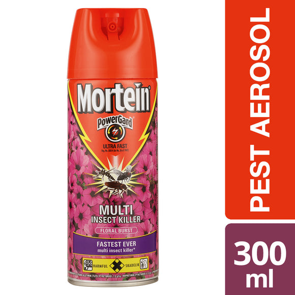 Mortein Ultra Fast Floral Burst Aerosal 300 ml
