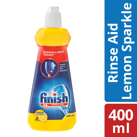Finish Rinse Aid Lemon 400ml Case of 12