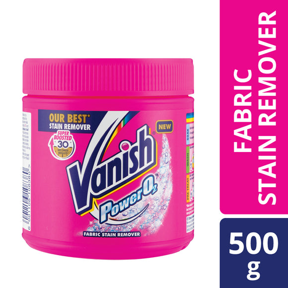 Vanish Power O2 Carpet and Multi Fabric Stain Remover 500ml
