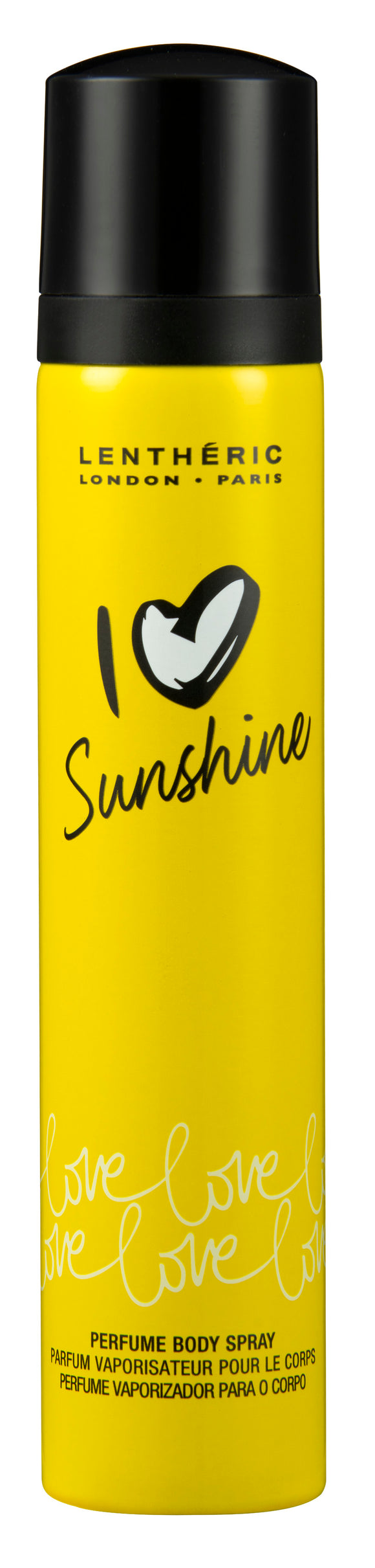 Lentheric I Love Perfume Body Spray Sunshine 90ML