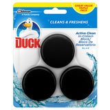 Duck Active Clean In The Cistern Toilet Block Blue 5x 45g