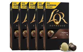L'OR Espresso Forza Intensity 9 - 5 Pack Bundle
