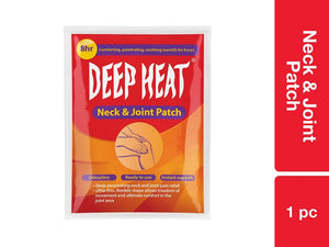 Deep Heat Neck and Joint Patch 1 pc Pack of 72