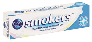 Pearl Drops Smokers Whitening Gel Toothpaste 50ml