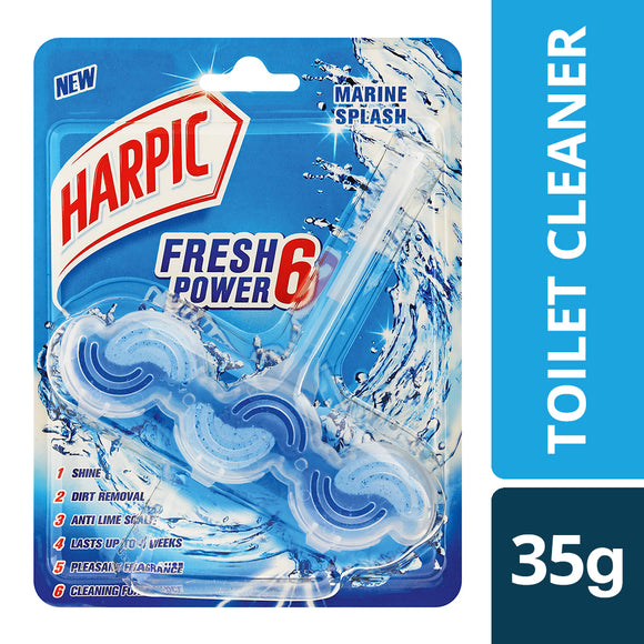 Harpic Fresh Power 6 Marine Splash 35g