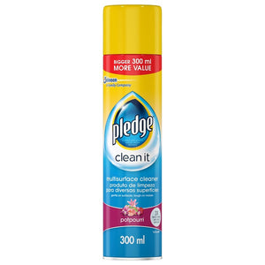 Pledge Multi Surface Cleaner Aerosol Potpourri 1 x 300ml