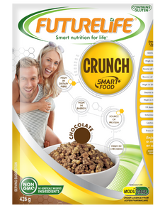 Futurelife Crunch Smart food Chocolate 425g Case of 20
