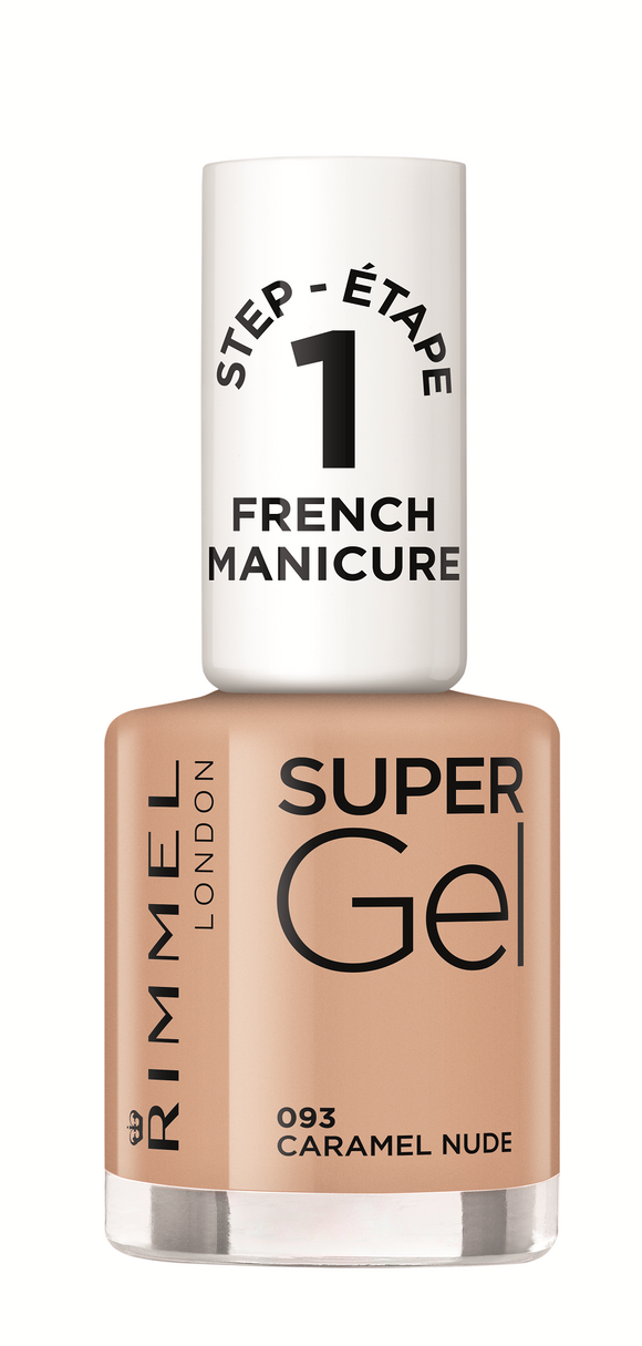 Rimmel Super Gel French Manicure Caramel Nude