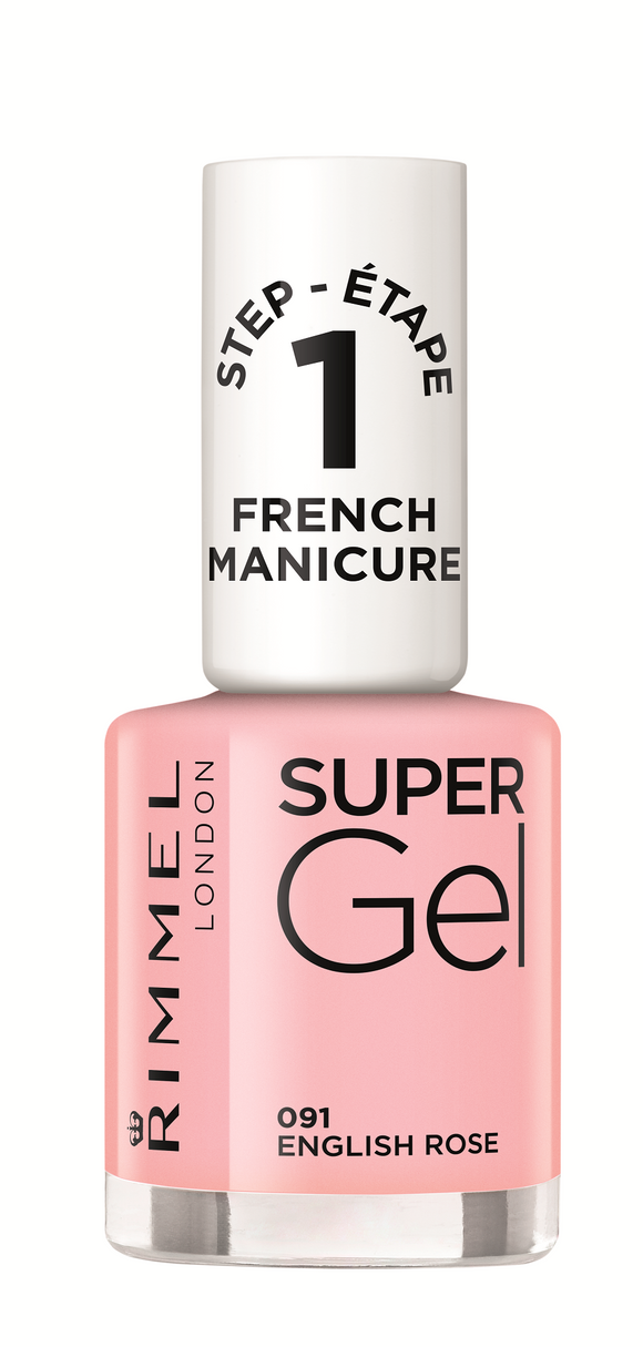 Rimmel Super Gel French Manicure English Rose