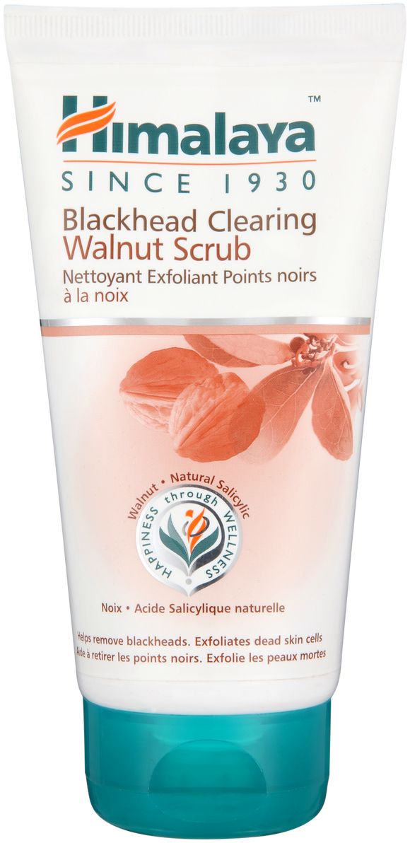 Himalaya Blackhead Clearing Walnut Scrub 150ml