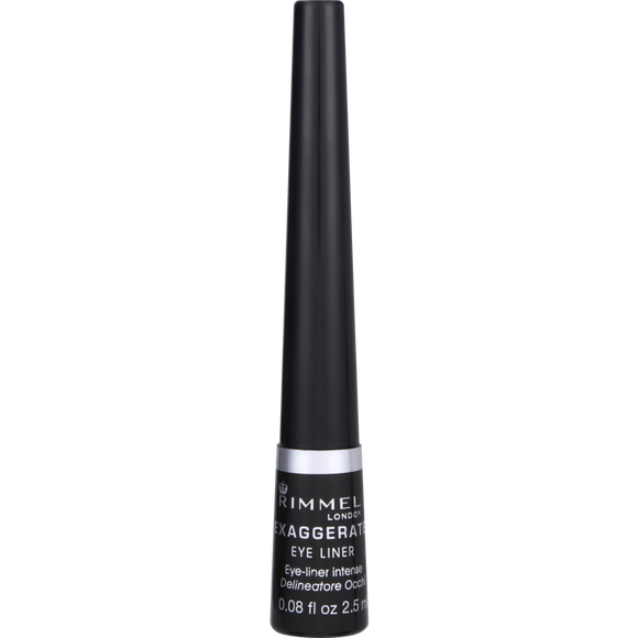 Rimmel Exaggerate Eyeliner Liquid Black