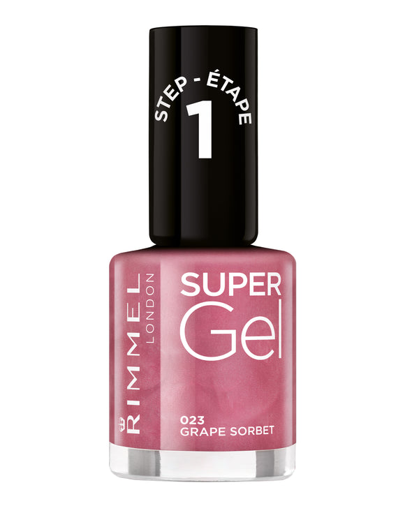 Rimmel Super Gel Nailpol 023 Grape Sorbet