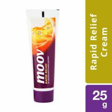 Moov Ointment Rapid Relief Cream 25g Case of 6
