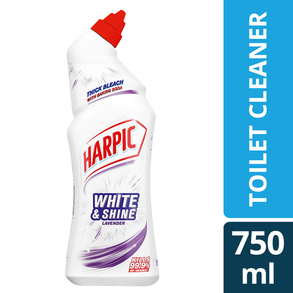 Harpic White and Shine Lavender 750ml
