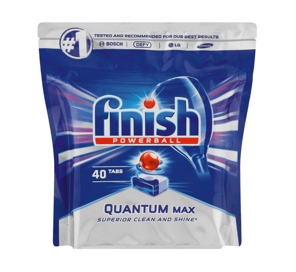Finish Quantum Dishwasher Tablets 40s