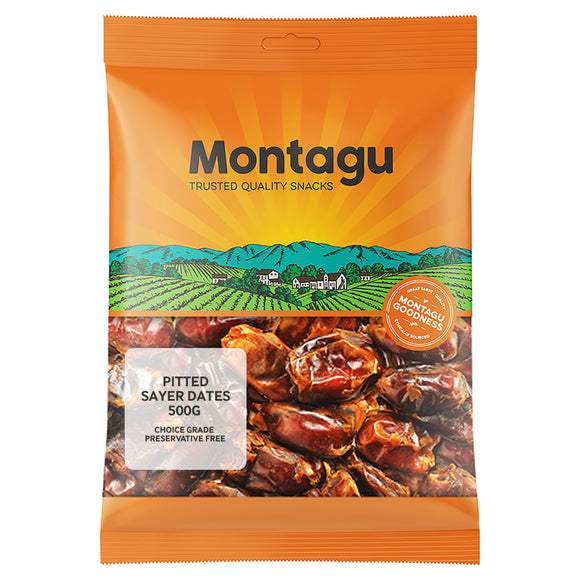 Montagu Pitted Sayer Dates Choice Grade 500g