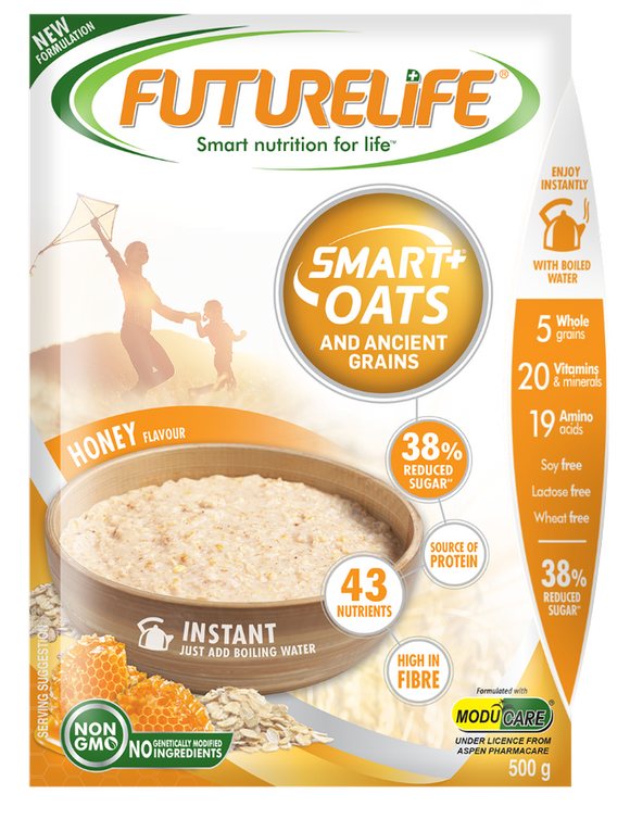 Futurelife Smart Oats and Ancient Grains Honey 500g