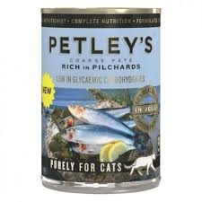 Petleys Pate rich in Pilchards 375g Pack of 12
