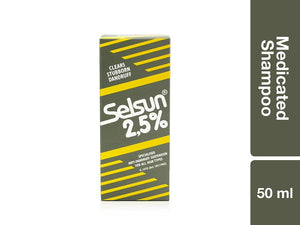 Selsun 2.5 Medicated Shampoo 50ml Pack of 48