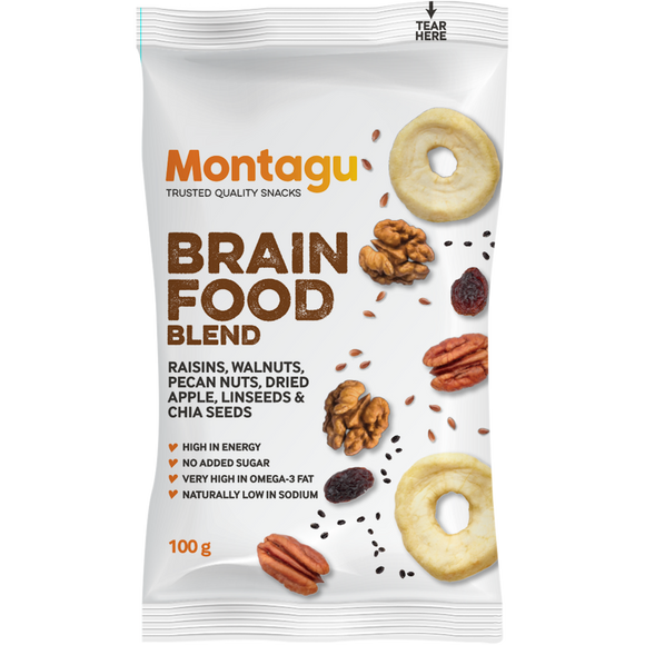 Montagu Lifestyle Brain Food Blend 100g Pack of 10