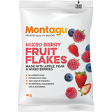 Montagu Fruit Flakes Mixed Berry 40g Pack of 10