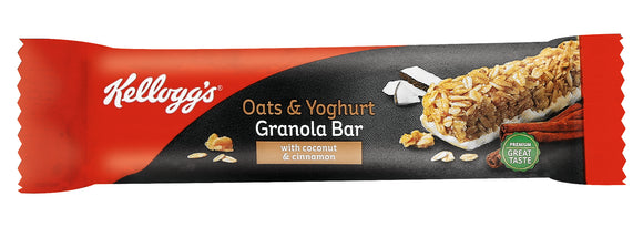 Kelloggs Oats and Yoghurt Granola bar Pack of 12