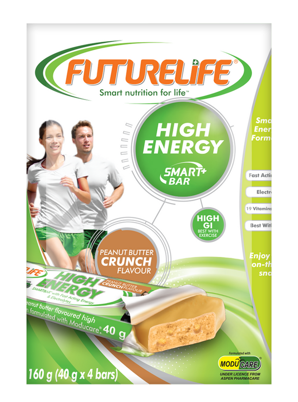 Futurelife High Energy SmartBar Multi Pack Peanut Butter 4 x 40g