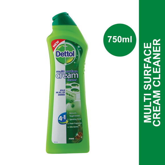 Dettol Multi Surface Cream Cleaner Pine 750ml