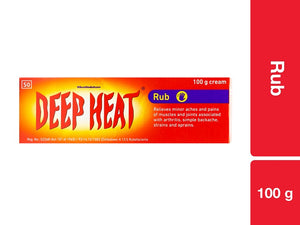 Deep Heat Rub 100g Pack of 48