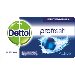 Dettol Soap Profresh Active 150g Shrink of 12