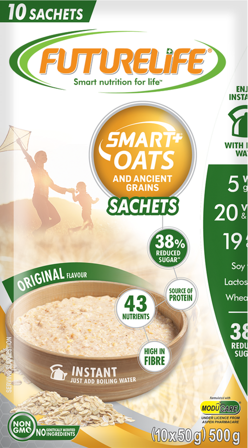 Futurelife Smart Oats and Ancient Grains Originals 10 x 50g