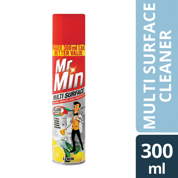 Mr Min Multi surface Lemon 300ml