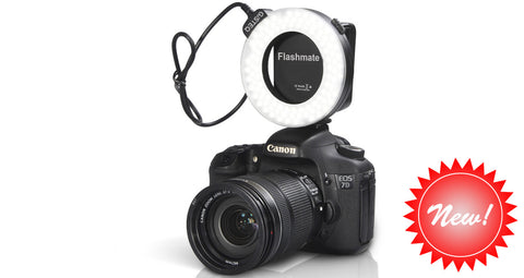 GiSTEQ Flashmate II N101 - Macro Ring Flash & Continuous Steady Lighting Solution For Canon or Nikon