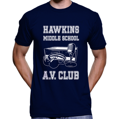 Stranger Things Hawkins Middle School AV Club T-Shirt / Hoodie