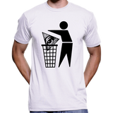 Bin The Illuminati / All Seeing Eye / New World Order (NWO) T-Shirt