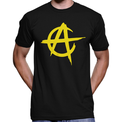 Anarcho-Capitalist / Voluntaryist Circle A T-Shirt