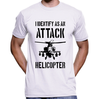 I Identify As An Attack Helicopter T-Shirt
