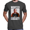 Anti Bill Gates Wanted Poster T-Shirt
