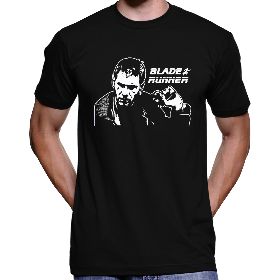 Blade Runner Rick Deckard T Shirt Culture Clash Clothing
