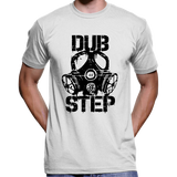 Dubstep Gas Mask Stencil T-Shirt