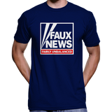 Faux News T-Shirt (Fox News Logo Parody)