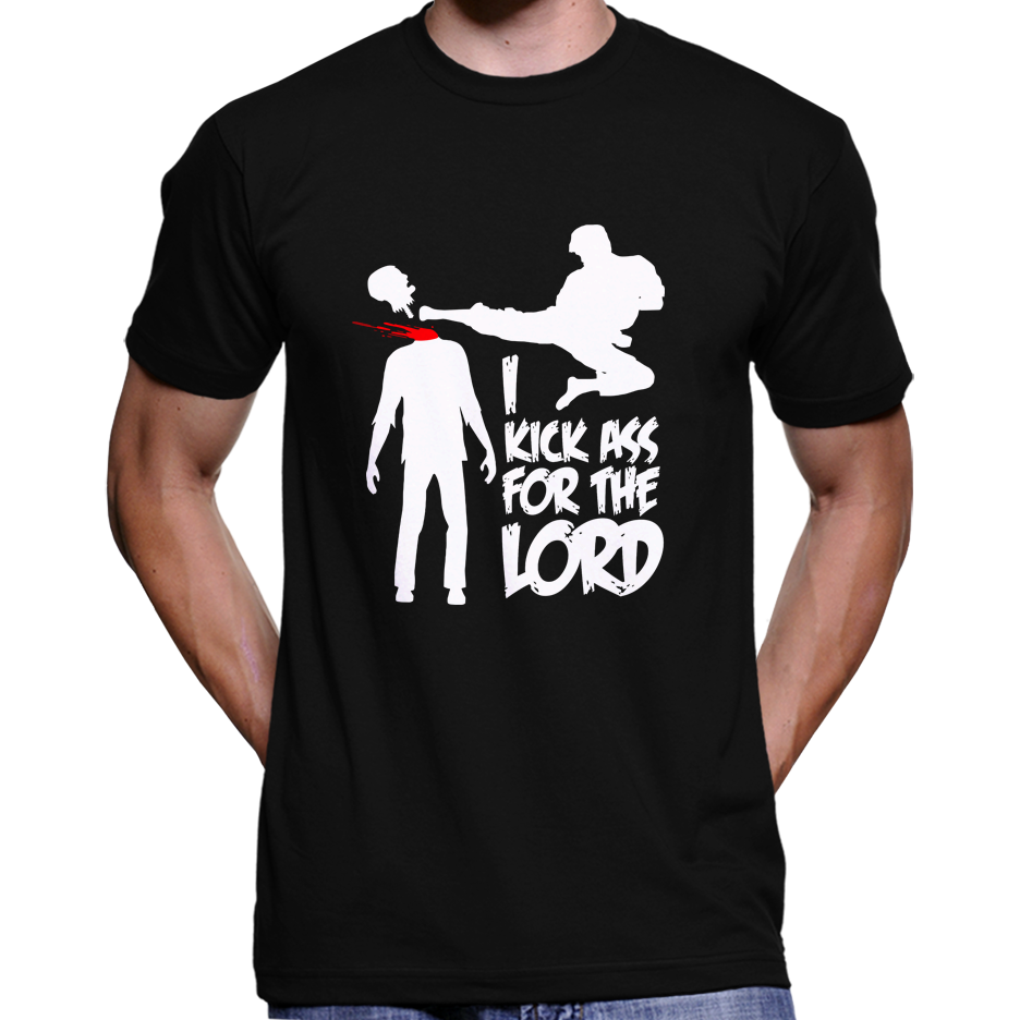 "Braindead (Dead Alive) ""I Kick Ass For The Lord"" T-Shirt / Hoodie"