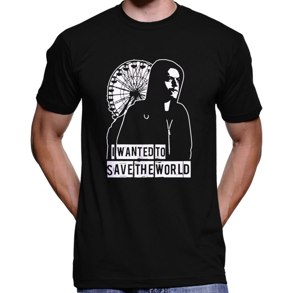 "Mr. Robot ""I Wanted To Save The World"" T-Shirt / Hoodie"